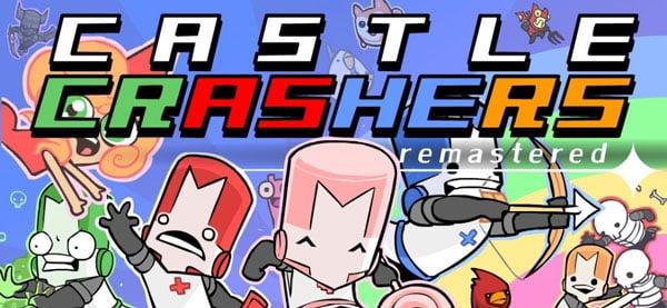 بازی کامپیوتری castle crashers remastered