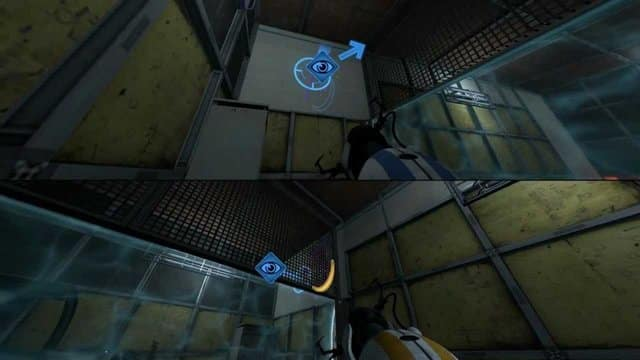 portal 2 splitscreen gameplay
