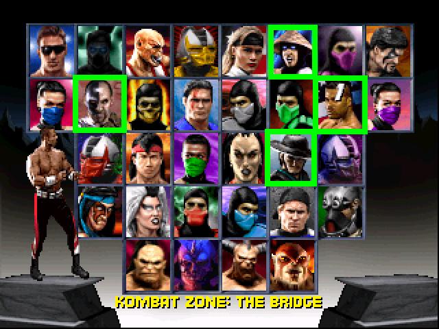 Mortal Kombat Trilogy characters