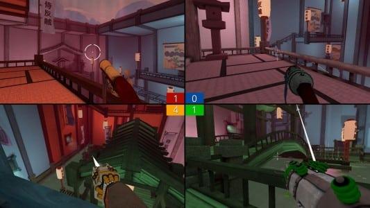 دانلود بازی چهار نفره Screencheat