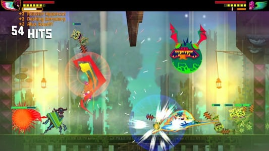 Guacamelee Super Turbo Championship Edition coop gameplay