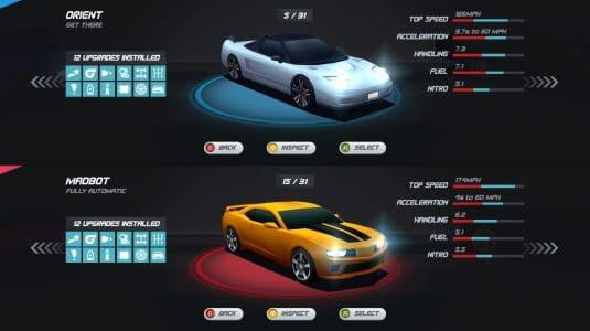Horizon Chase Turbo splitscreen
