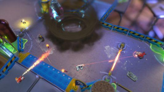 Micro Machines World Series gameplay 2